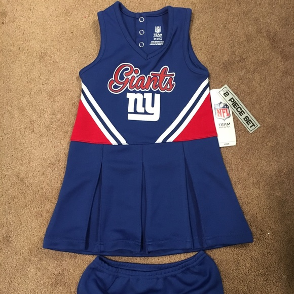 e10dfc7f1 NY Giants Toddler 3T girl s Cheerleader suit New